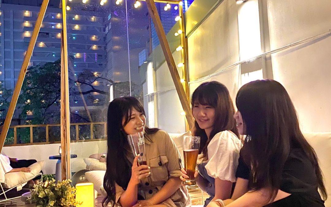 星光下的浪漫微醺:質感、氣氛滿點的台灣大道精釀啤酒吧——《禾樂精釀啤酒吧》新光遠百店